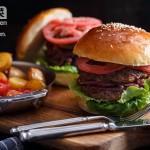 松露牛肉汉堡