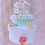 立体糖霜裱花蛋糕#相约MOF#