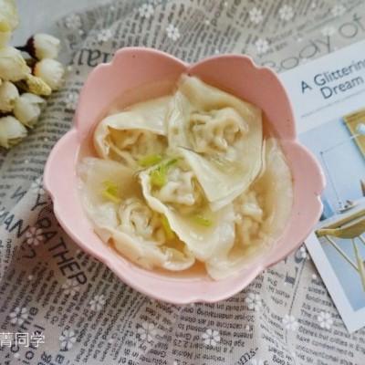 骨汤鲜肉馄饨#金龙鱼外婆乡小榨菜籽油 最强家乡菜#