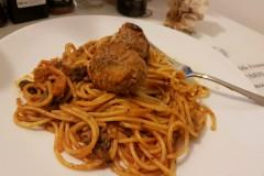 肉丸子面 meatball pasta