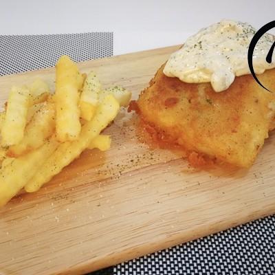 「回家菜谱」——英式炸鱼配薯条