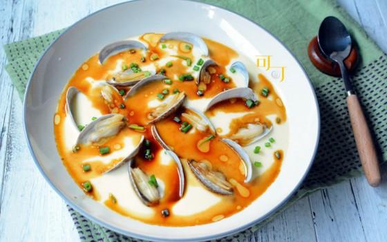 花蛤蒸鸡蛋汤