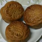 广式豆沙馅月饼
