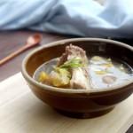 板栗大骨汤