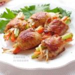 彩蔬煎鸡翅