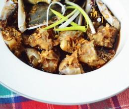 酱油腌活蟹