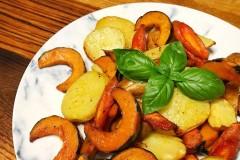 橄榄油烤杂菜