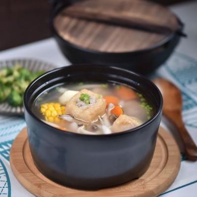 花样豆泡养生汤