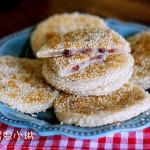 蜜豆糯米饼