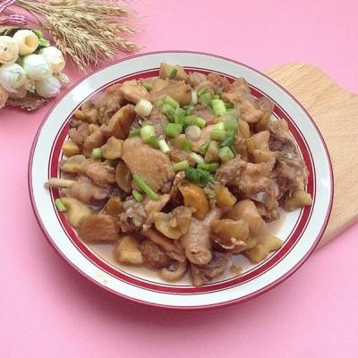 栗子炆鸡#金龙鱼外婆乡小榨菜籽油 最强家乡菜#