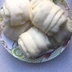 【零失败-宝宝辅食】葱香小花卷(面包机和面)