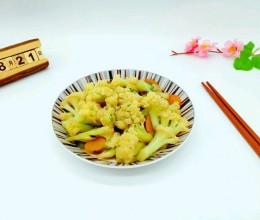 清炒花菜#厨此之外,锦享美味#