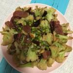 干锅花菜(花菜炒腊肠)
