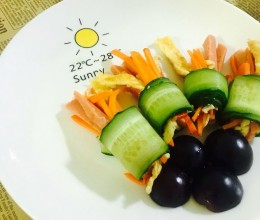 营养蔬菜卷