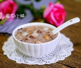 蜜豆圆子杂粮粥