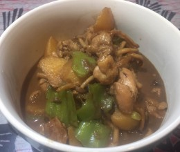 简单又好吃的黄焖鸡米饭