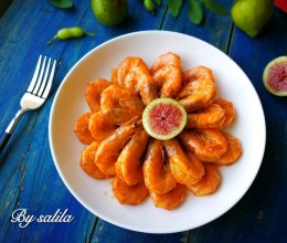 茄汁大虾#厨此之外,锦享美味#