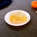 宝宝辅食:快手胡萝卜蛋饼