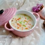 香菇胡萝卜鳕鱼粥