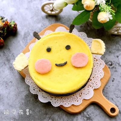 """可爱的小蜜蜂蛋糕#享""""美""""味#"""