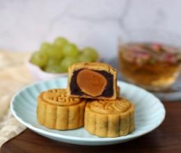 广式红豆沙蛋黄月饼(+豆沙凤梨月饼)