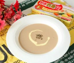 法式蘑菇浓汤#手残党VS西餐大厨#