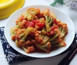 #厨此之外,锦享美味#番茄焖菜花