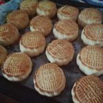 金沙奶黄月饼/莲蓉蛋黄月饼