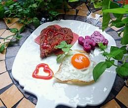 【幸福餐】营养早餐-黎麦荞麦冷饭煎饭团-蜜桃爱营养师私厨