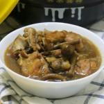 小鸡炖油蘑