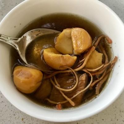 秋季養生湯-粟子蟲草花牛肉湯