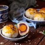 红豆沙蛋黄酥