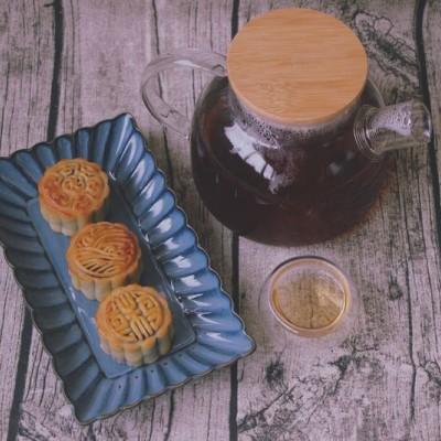 紫薯月饼#每道菜都是一台时光机#