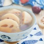 莲藕红枣山楂糖水