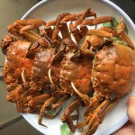 花雕蒸醉蟹