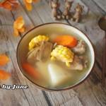 玉米胡萝卜牛蒡汤#kitchenaid的美食故事#