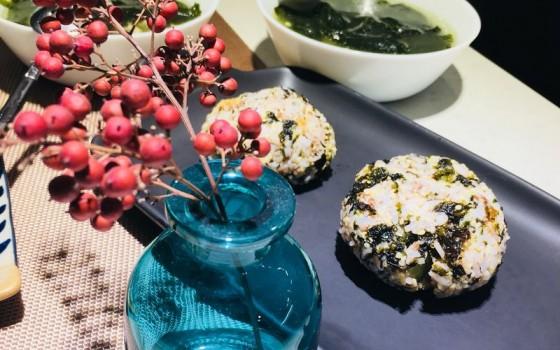 海苔糍饭团