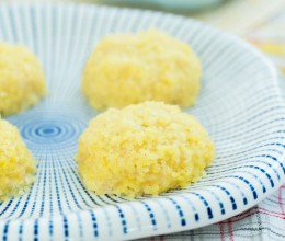小米裹鱼丸