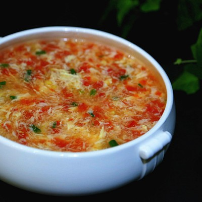 西红柿鸡蛋羹
