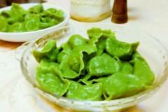 菠菜汁鲅鱼水饺