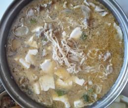 小肥羊金针菇鲜汤