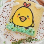 萌萌噠彩繪蛋糕卷