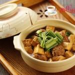 豆腐炖肉丸