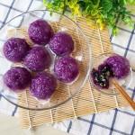 西米紫薯球#KitchenAid的美食故事#
