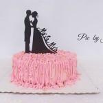 酸奶慕斯婚庆蛋糕#跨界烤箱 探索未来#