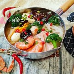 骨汤海鲜冒菜