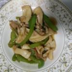 青椒炒鱿鱼
