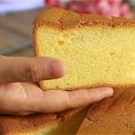 香橙戚风蛋糕#跨界烤箱 探索味来#