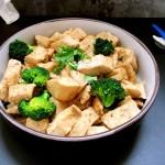 鸡胸烩豆腐