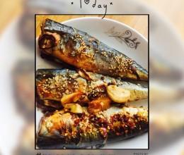 烤箱烤青鱼